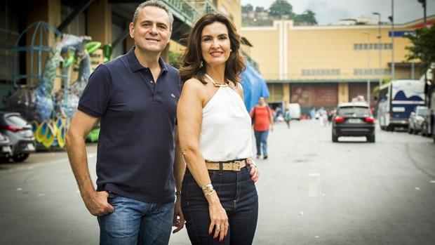 Globo exibe o desfile do Grupo Especial do Rio (João Miguel JR./Globo)