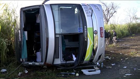 Vítima de acidente de ônibus afirma que foi salva por cinto de segurança
