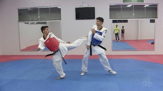 taekwondo, macapá, campanha, viagem globo esporte amapá (Foto: Globo Esporte AP)