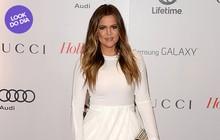 Look do dia: Khloe Kardashian usa vestido branco em evento nos EUA