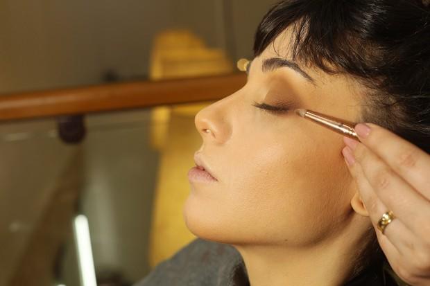 Maquiagem para o Lollapalooza (Foto: Iwi Onodera / EGO)