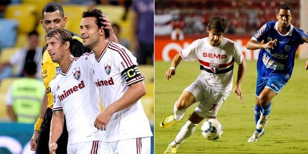 Em jogo exibido apenas para São Paulo, o Fluminense enfrenta o São Paulo, no Maracanã (Foto: globoesporte.com)