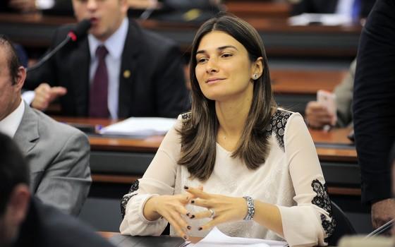 Rebecca Garcia (Foto: Leonardo Prado/Câmara dos Deputados)