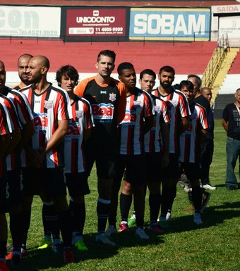 Paulista de Jundiaí, 106 anos, comemoração, jogo dos campeões (Foto: Gustavo Amorim / Paulista FC)