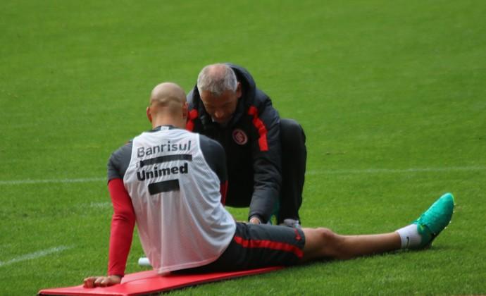 Ariel treino do Inter (Foto: Tomás Hammes/GloboEsporte.com)