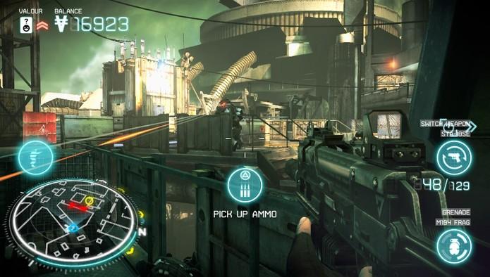 Killzone: Mercenary leva com sucesso o gênero FPS aos portáteis (Divulgação/Sony)