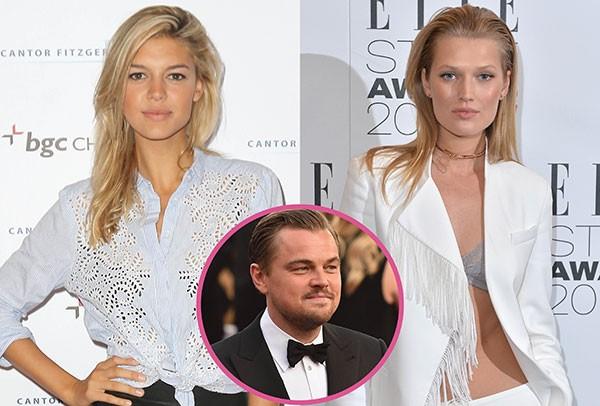 Leonardo DiCaprio, Toni Garrn e Kelly Rohrbach (Foto: Getty Images)