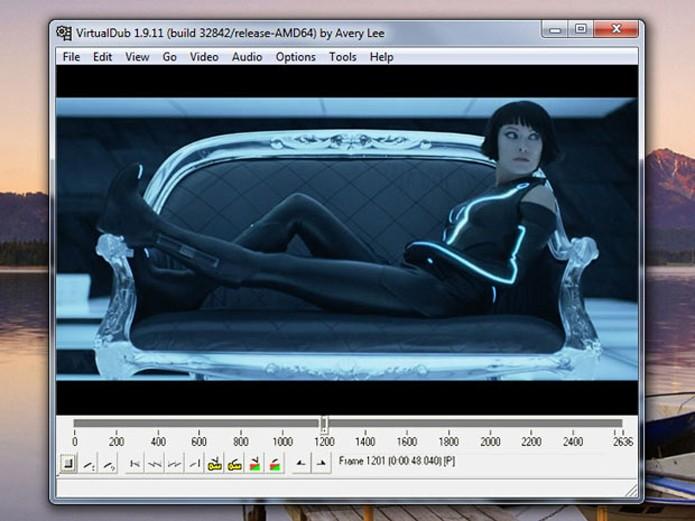 Virtualdub oferece plug-ins para adicionar ferramentas de edição (Foto: Reprodução/Teresa Furtado)