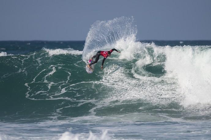 Gabriel Medina em ação na etapa de Jeffreys Bay pelo Mundial de Surfe 2015 (Foto: Divulgação / WSL)
