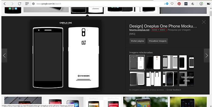 Usuário pode procurar imagens grandes para como ícones no Android (Foto: Reprodução/Elson de Souza)