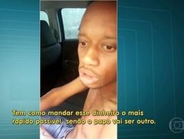 Bandido 'sequestrado' e solto por policiais no RJ pode ter matado PM (Reprodução/TV Globo)