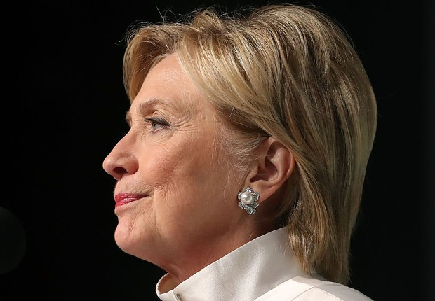 Hillary Clinton, candidata democrata à presidência dos EUA (Foto: Mark Wilson/Getty Images)