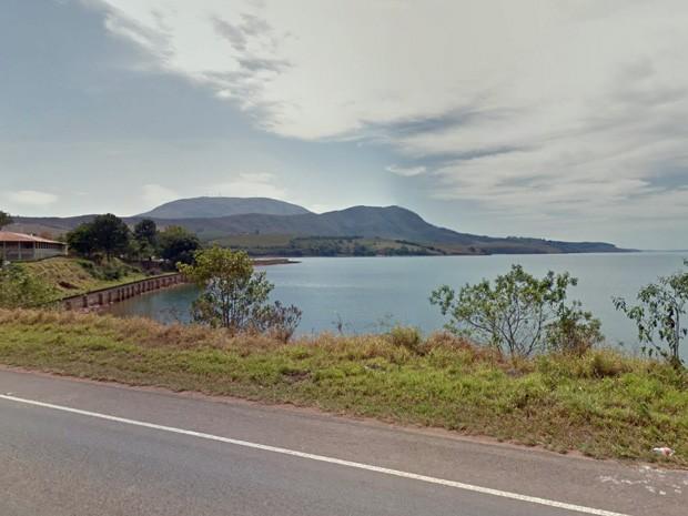 Pousada Pontal do Lago, em Carmo do Rio Claro, registrada em 2011 (Foto: Google Street View)