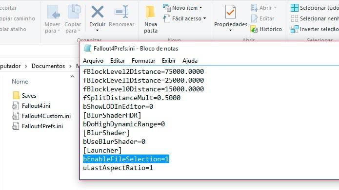 Cole o código abaixo da linha [Launcher] e salve o arquivo (Foto: Reprodução/Tais Carvalho)