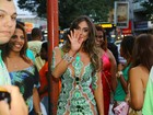 Nicole Bahls não é mais rainha de bateria da Império Serrano