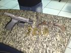 Homem é preso com armas e munições em Rio das Ostras, no RJ