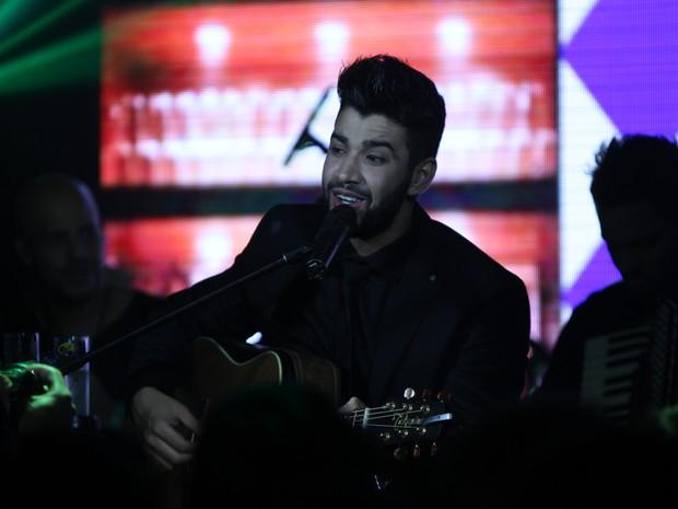 Gusttavo Lima faz show em São Paulo (Foto: Amauri Nehn/ Foto Rio News)
