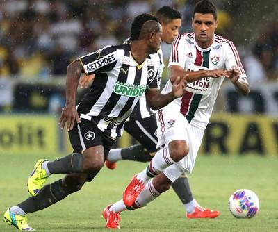 Fluminense X Botafogo (Foto: Marcio Alves / Agência O Globo)