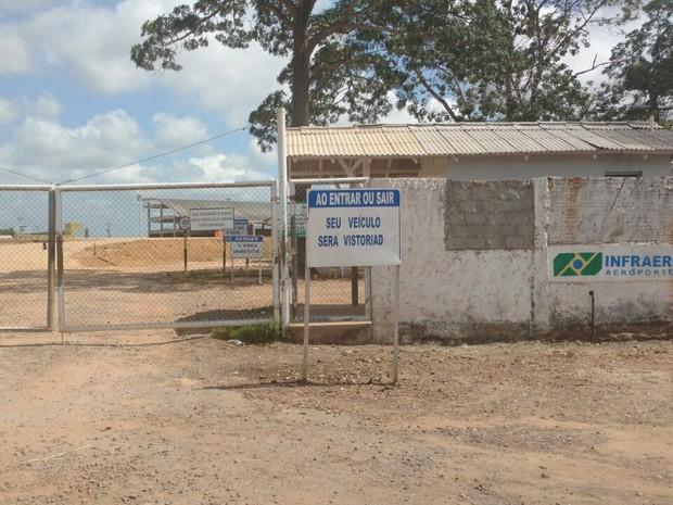 Aeroporto Macapá Amapá (Foto: Fabiana Figueiredo/G1)