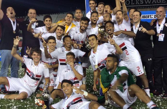 São Paulo Libertadores Sub-20 (Foto: Twitter / Conmebol)