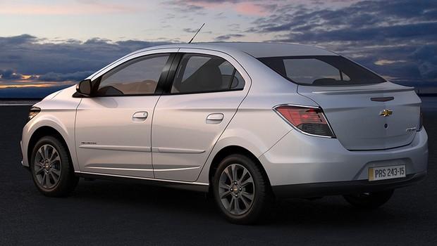 Chevrolet Prisma Advantage (Foto: Divulgação)