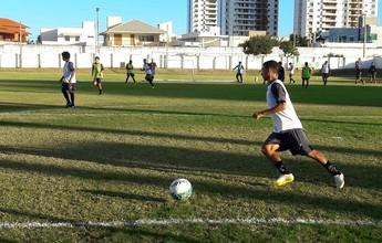 Com Erivélton recuperado, ABC inicia preparação para jogo contra Salgueiro