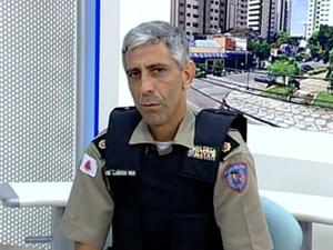 Novo comandante da 7ª RPM de Divinópolis (Foto: Reprodução/TV Integração)