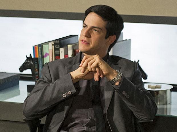Félix não perde a chance de debochar de César (Foto: Estevam Avellar/TV Globo)