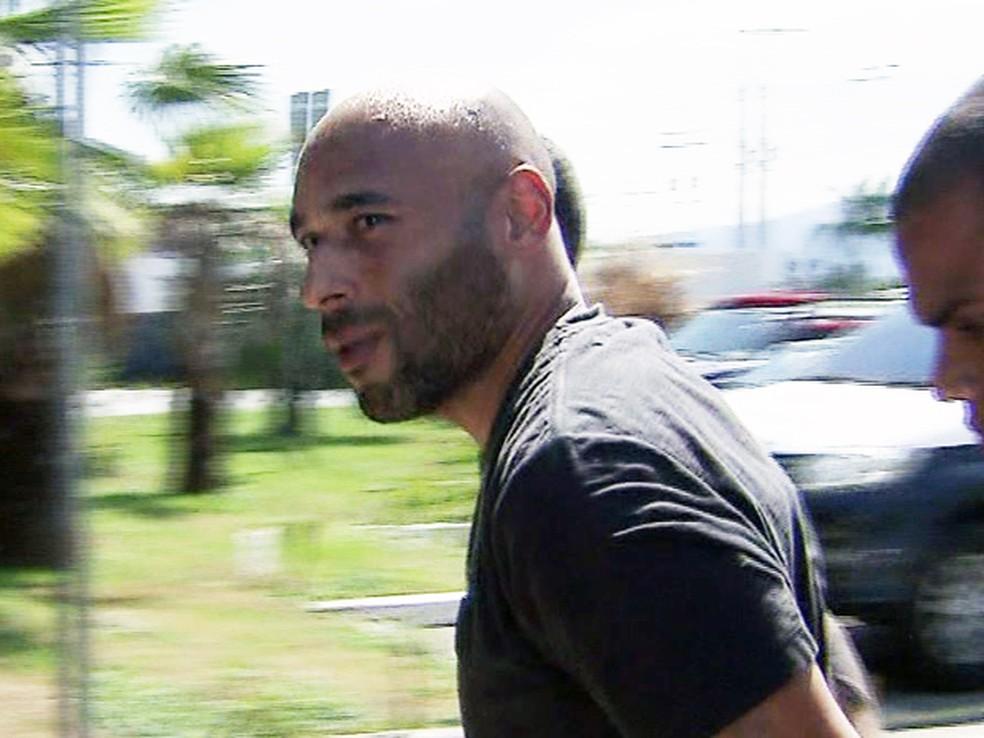 Ex-goleiro do Santos, filho de Pelé foi preso em Praia Grande, SP (Foto: Reprodução/TV Tribuna)