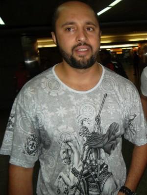 Tadeu Macedo, torcedor do Corinthians (Foto: Maria Clara Ciasca)