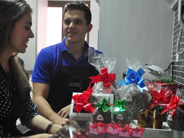 Eduardo Leonel Ferreira, de 23 anos, e Alynne Correia Fernandes, 25 anos (Foto: André Souza/G1)