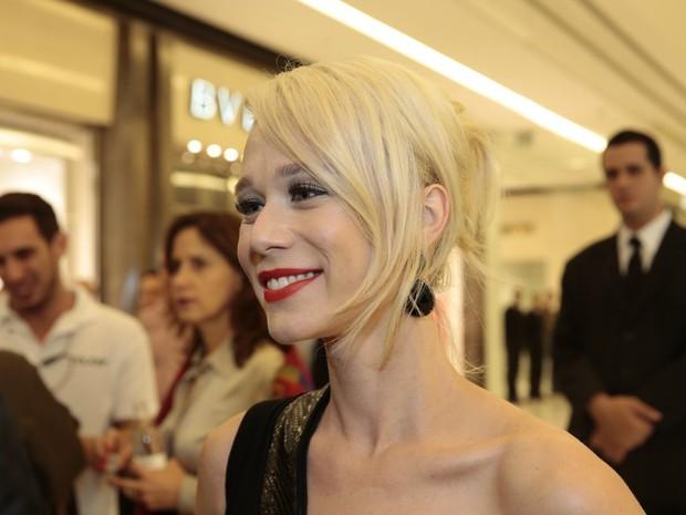 Mariana Ximenes em evento em São Paulo (Foto: Felipe Panfili/ Ag. News)