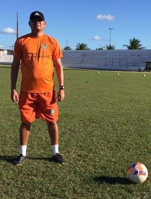 Rommel Vieira, novo técnico Miguelense (Foto: Divulgação/Miguelense)
