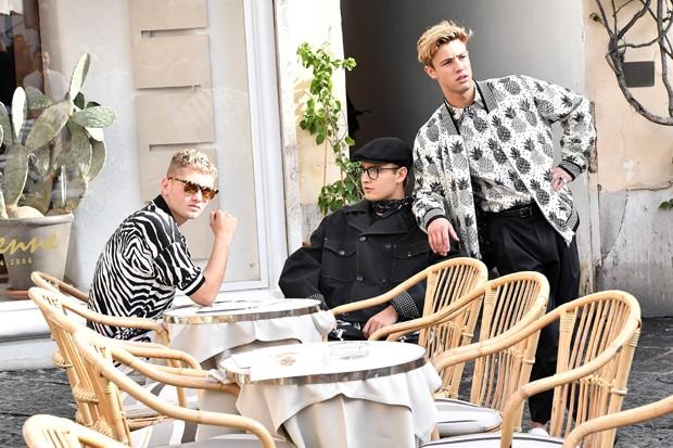 Ums das fotos da Dolce & Gabbana feita em Capri (Foto: Divulgação)