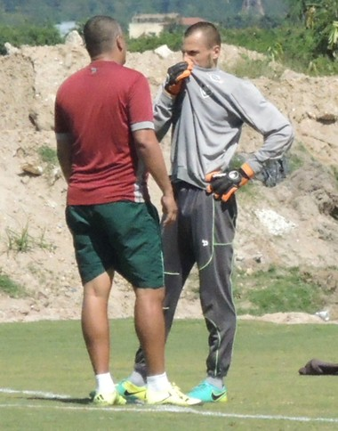 Diego Cavalieri CT do Fluminense 09/11 (Foto: Hector Werlang)