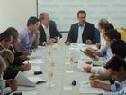 Em reunião com secretário estadual, prefeitos fazem balanço de obras