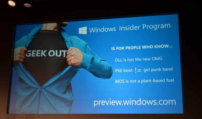 Windows Insider Program começa em breve, para testar builds do Windows 10 (Foto: Reprodução/TheVerge)
