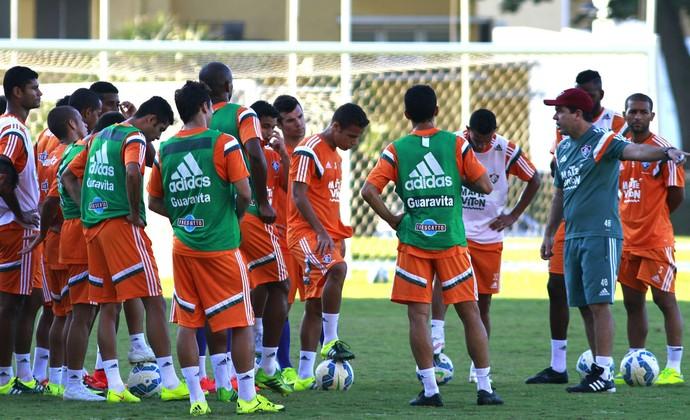 Treino Flu dia 17 de junho (Foto: Nelson Perez/Fluminense FC)