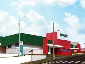 Essa é a primeira UPA da cidade (Foto: Prefeitura de Pato Branco/ Divulgação)