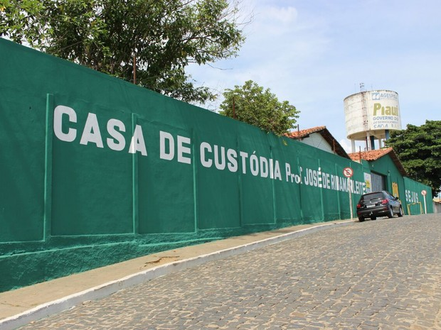 Casa de Custódia em Teresina (Foto: Fernando Brito/G1)