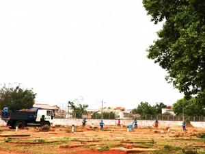 Cemitério Uberlânida (Foto: Prefeitura de Uberlânda/Divulgação)