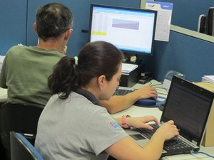 SKF Dia sem e-mail (Foto: Paulo Guilherme/G1)