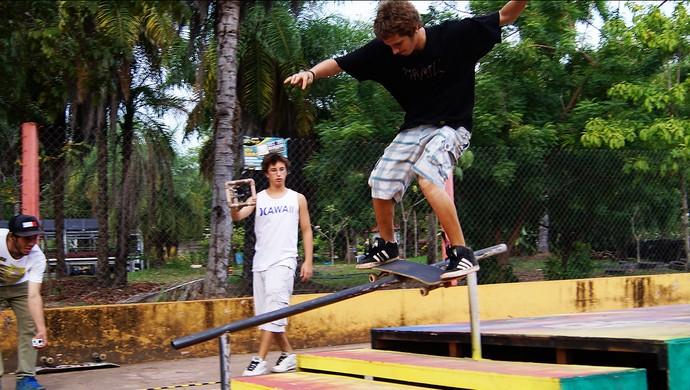 Skate - Rei do Bosque (Foto: Divulgação: Junior Soares)