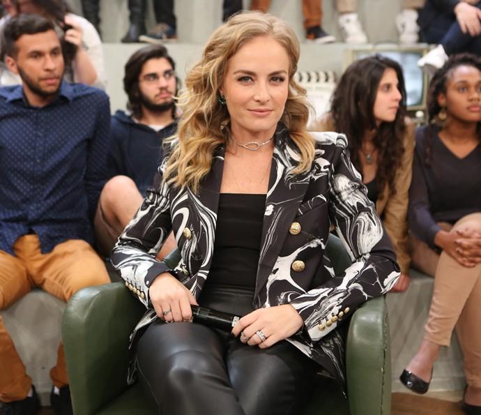 Angélica participa da gravação do programa 'Altas Horas' (Foto: Carol Caminha/Gshow)