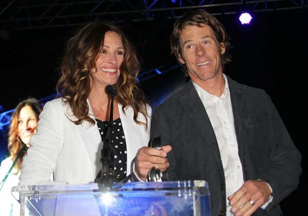 Julia Roberts e Danny Moder (Foto: Getty Images)