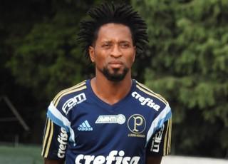 Zé Roberto treino Palmeiras (Foto: Rodrigo Faber)