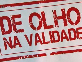 Orientação é de acompanhar todo o processo, desde o recebimento da mercadoria até a entrega ao consumidor (Foto: Reprodução/TV Globo)