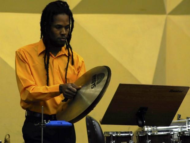 Osba realiza concerto de percussão erudita em Salvador (Foto: Mauricio Serra/Divulgação)