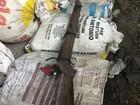 Dupla é detida por furto a vagão com soja; carga alimentaria cavalos