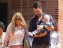 Fergie passa a Páscoa com a família